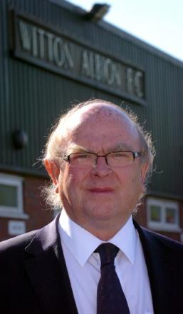 Paul Ogden, 63, is the man asked by Witton Albion to return the Wincham Park club to the Northern Premier League's top flight.
