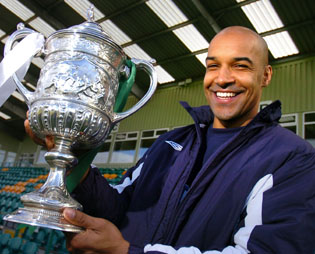 Andy Preece has lifted the Cheshire FA Senior Cup twice as manager at Northwich Victoria.