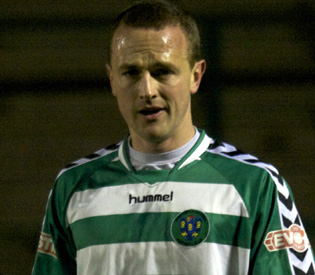 Steve Woods, 34, has joined Evo-Stik League Premier Division leaders FC Halifax Town on loan. Picture: Paul Simpson.