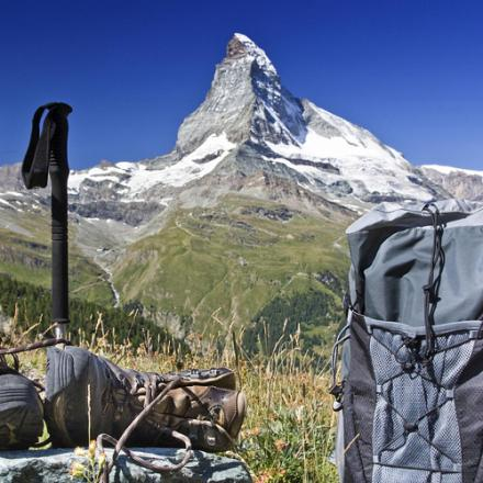 Andrew Wright, from Pickmere, is determined to conquer the Matterhorn this summer.