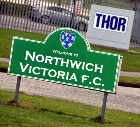 Northwich Victoria left the Victoria Stadium in January after it was bought by Thor Specialities (UK) Ltd.