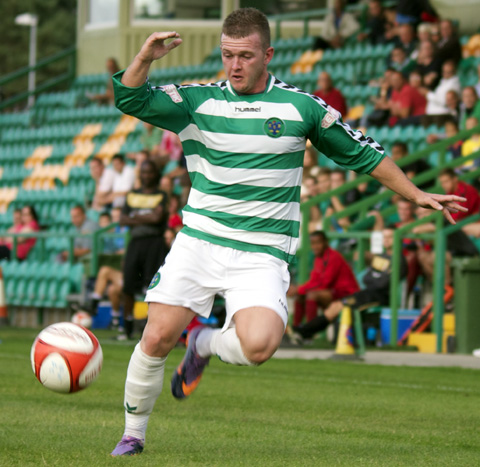Paul Ennis has left Northwich Victoria to join Colwyn Bay. Picture: Paul Simpson.