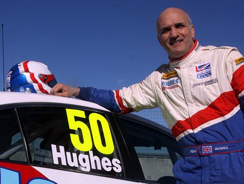 Tony Hughes hopes to score a first point in the drivers' standings in the British Touring Car Championship this season. Picture: Matt Sayle