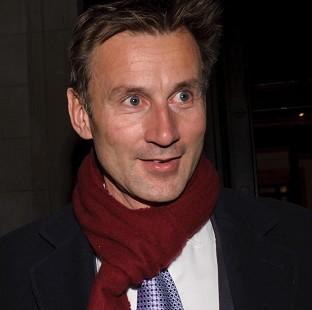 Northwich Guardian: Jeremy Hunt defended his conduct in News Corporation's takeover bid for BSkyB