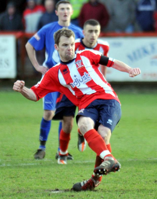 Witton Albion captain Anthony Sheehan.