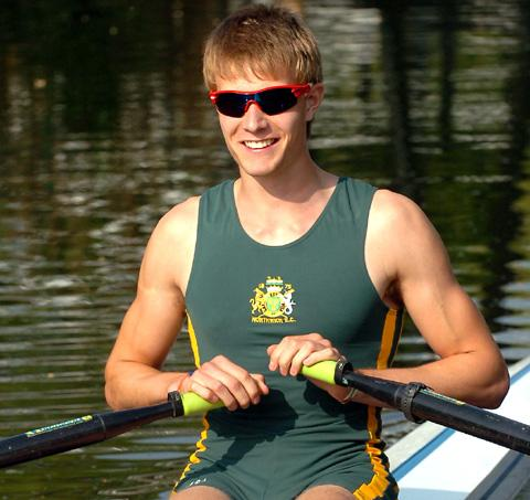 Northwich Rowing Club's Ed Grisedale won a bronze medal at the National Schools' Regatta.