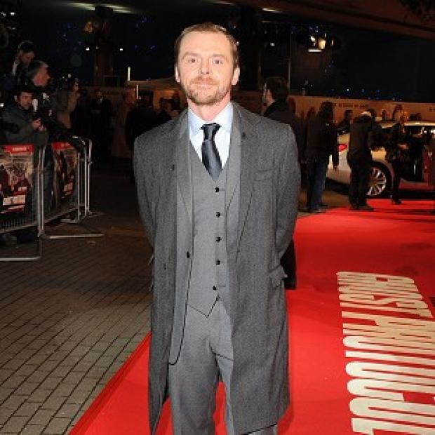Simon Pegg doesn't see himself as a Hollywood star