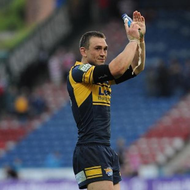 Kevin Sinfield was sent to the sin bin when Leeds led 18-6