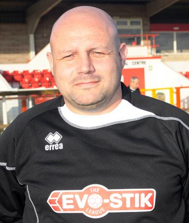 Witton Albion manager Brian Pritchard.