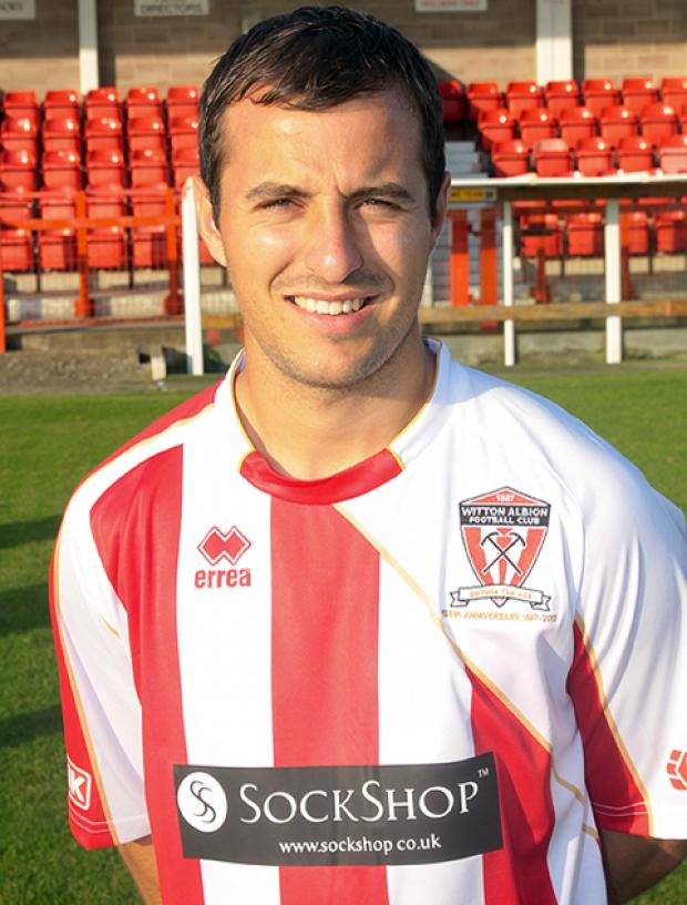 Ashley Stott opened his account for the season in Witton's 3-1 defeat against Chorley.