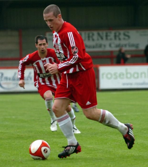 Steve Foster scored 21 goals for Witton Albion in his previous spell.