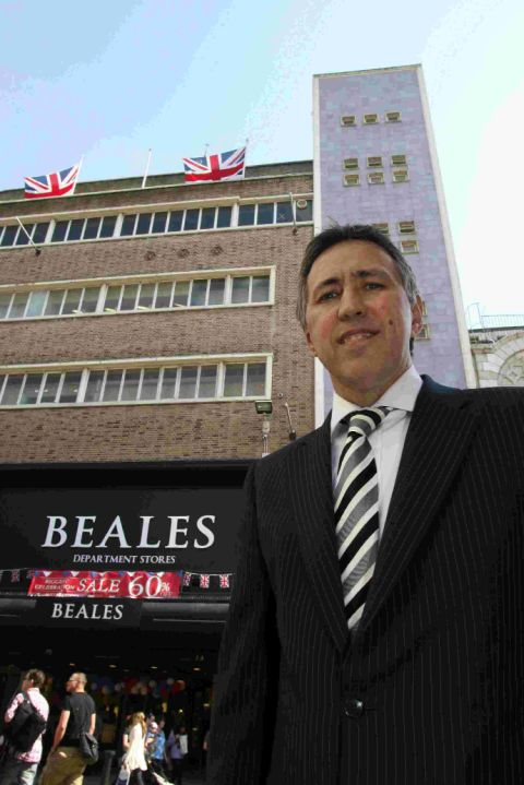 Chief executive of Beales, Tony Brown