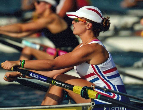 Northwich Rowing Club's Lucy Burgess was a gold medal winner in Australia this weekend.