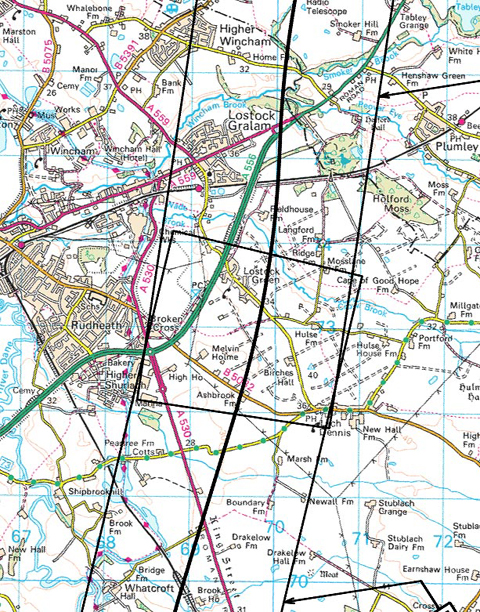 MAPS ADDED: Is HS2 route too close for comfort?