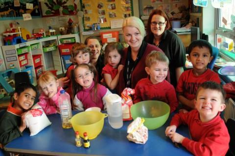 Lostock Tiny Tots celebrate Ofsted report