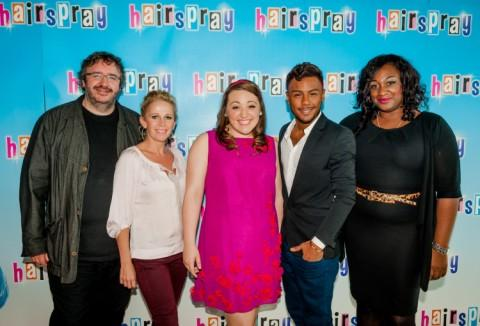 Mark Benton, Lucy Benjamin, Freya Sutton, Marcus Collins and Sandra Marvin.