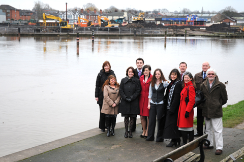 Multi-million pound boost for town's flood defences