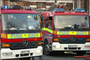 Residents evacuated in Barnton flat fire