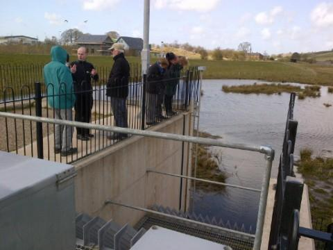Northwich Town Councillors visited Cumbria to see how its flood defence systems work.