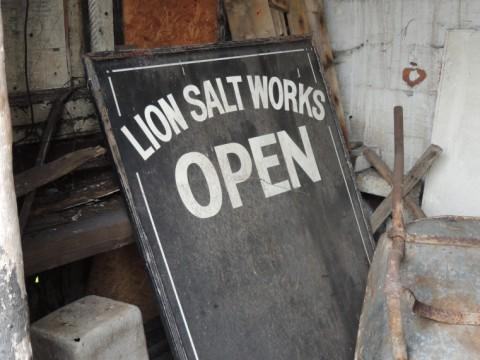 Salt works opens early for heritage event