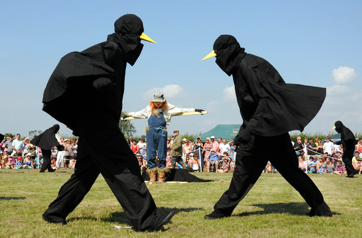 Village men will perform the iconic crow dance in Moulton on Saturday.