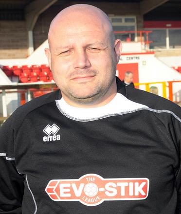 Witton Albion manager Brian Pritchard