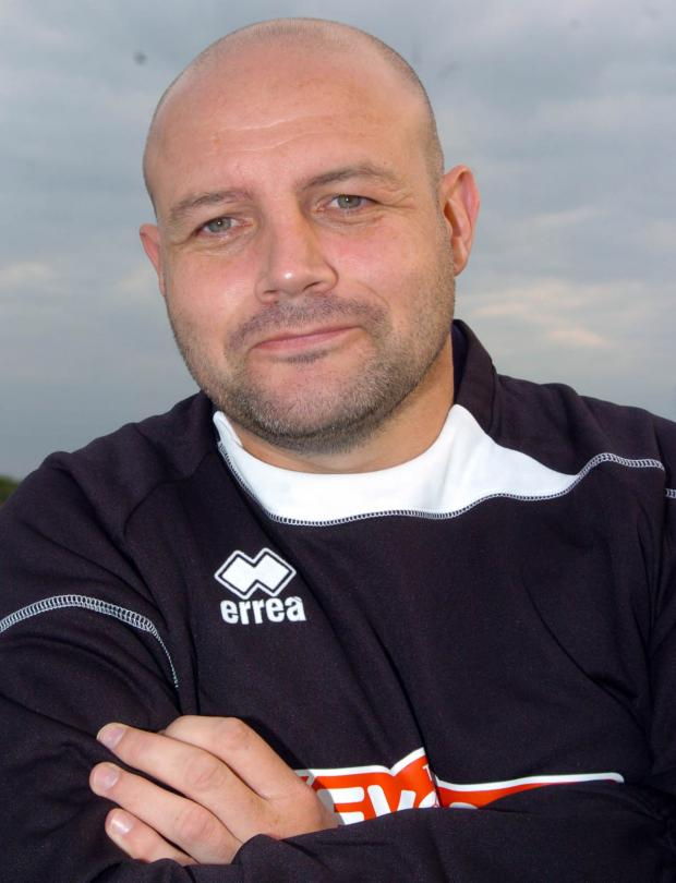 Northwich Guardian: Witton Albion manager Brian Pritchard