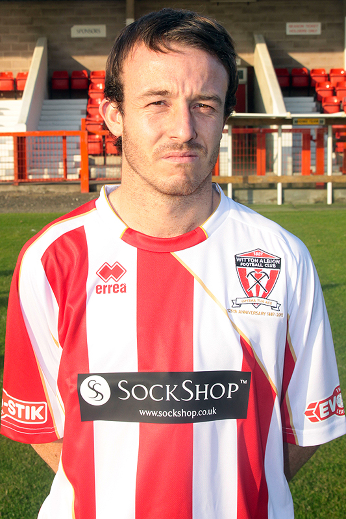 Witton Albion forward Shaun Tuck