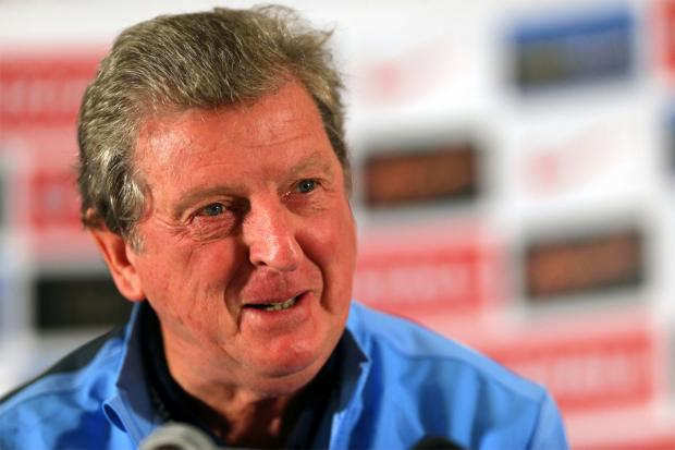 Northwich Guardian: RELAXED AND CONFIDENT: England head coach Roy Hodgson is sure qualification will be achieved