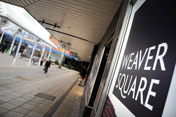 Northwich Guardian: Weaver Square will be up for auction in the New Year
