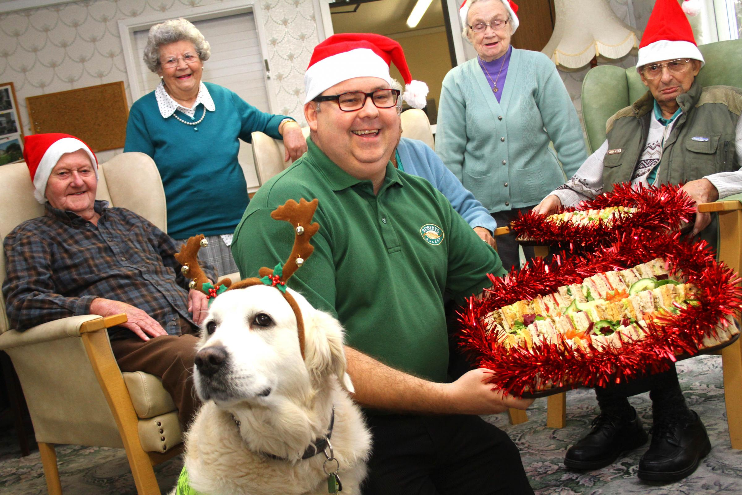 Roberts Bakery deliver Christmas treat