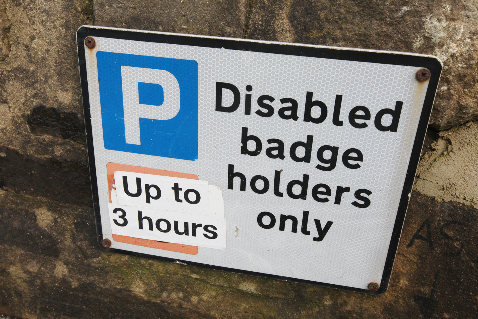 Aged 75 and told 'no blue badge'