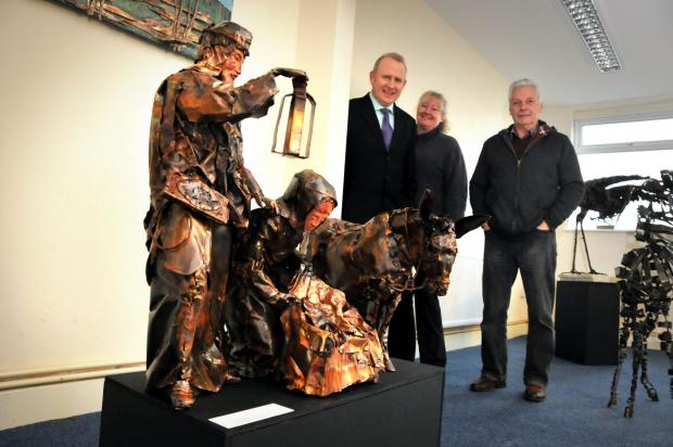 Gallery gets nativity sculptures