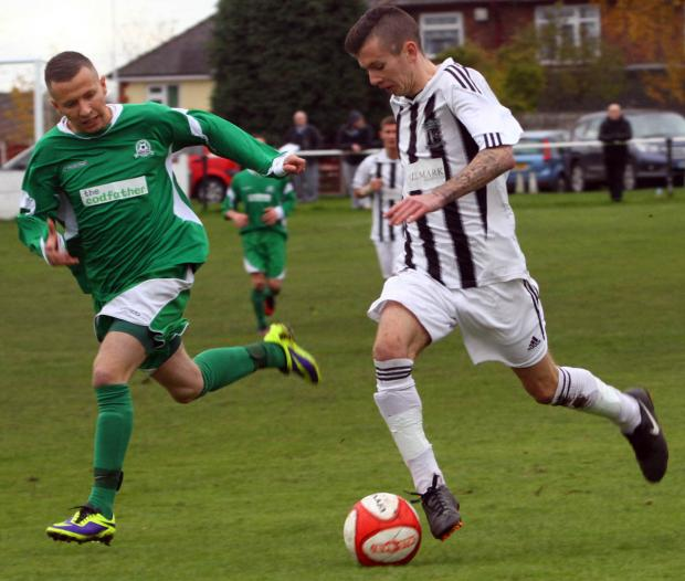 Barnton closed the gap at the Cheshire League summit following Saturday's victory. Picture: Matt Sayle
