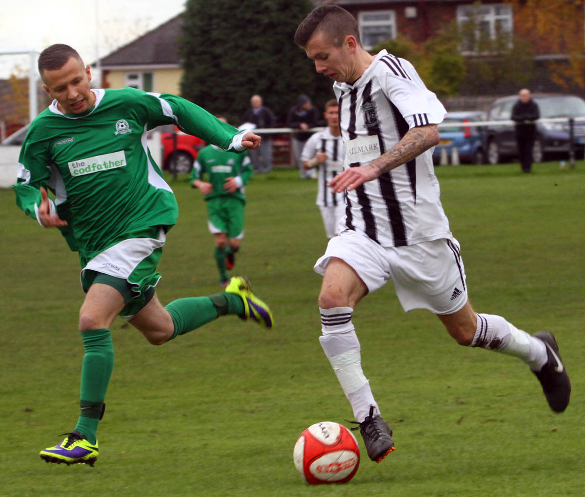Barnton closed the gap at the Cheshire L
