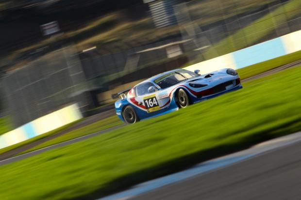 Speedworks' Ginetta G50 is put through its paces at Donnington Park before Christmas.