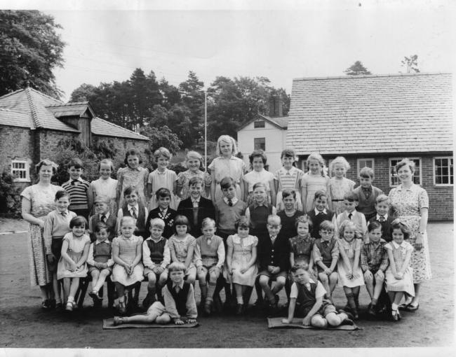 Salad days at Whitegate School in the 1950s