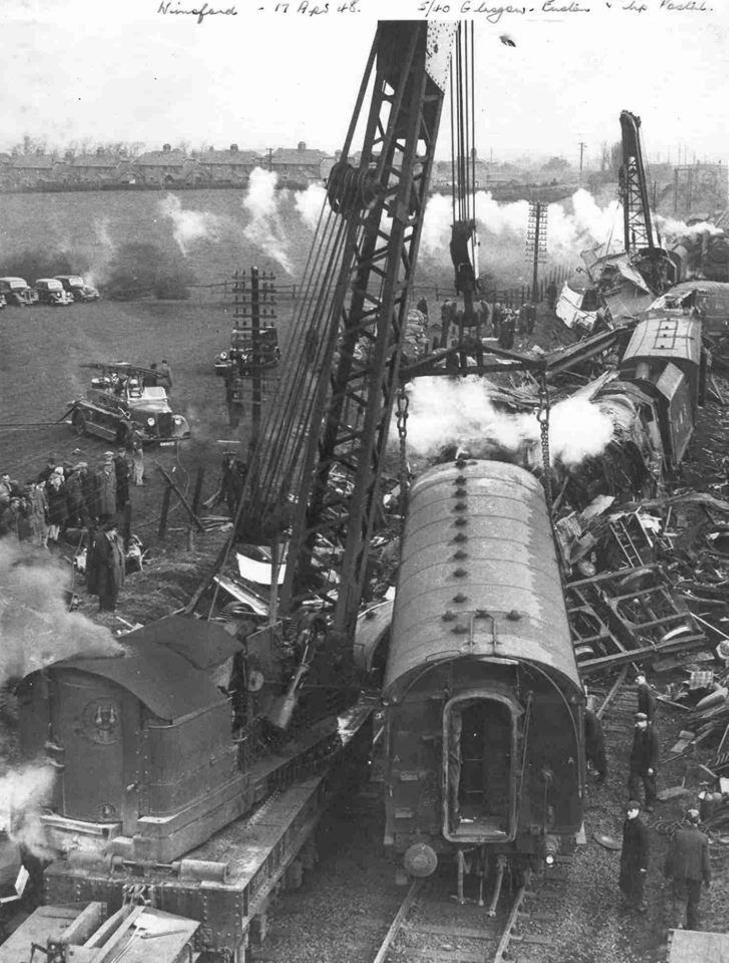 Reader's picture of Winsford's 1948 train disaster