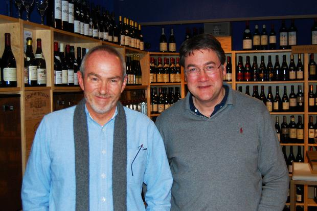 Kevin Judd and Jon Campbell, owner of Define Food and Wine in Sandiway