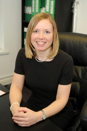 Sarah Turnbull is the new president of Trafford Law Society