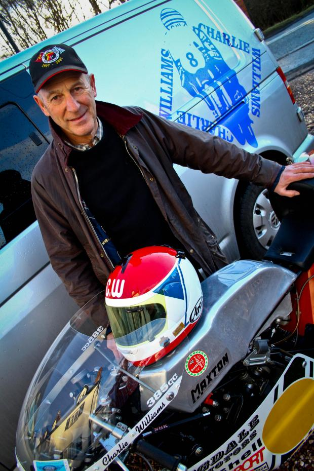 Northwich Guardian: Charlie Williams will race the Isle of Man TT's mountain course again this year. Picture: MATT SAYLE
