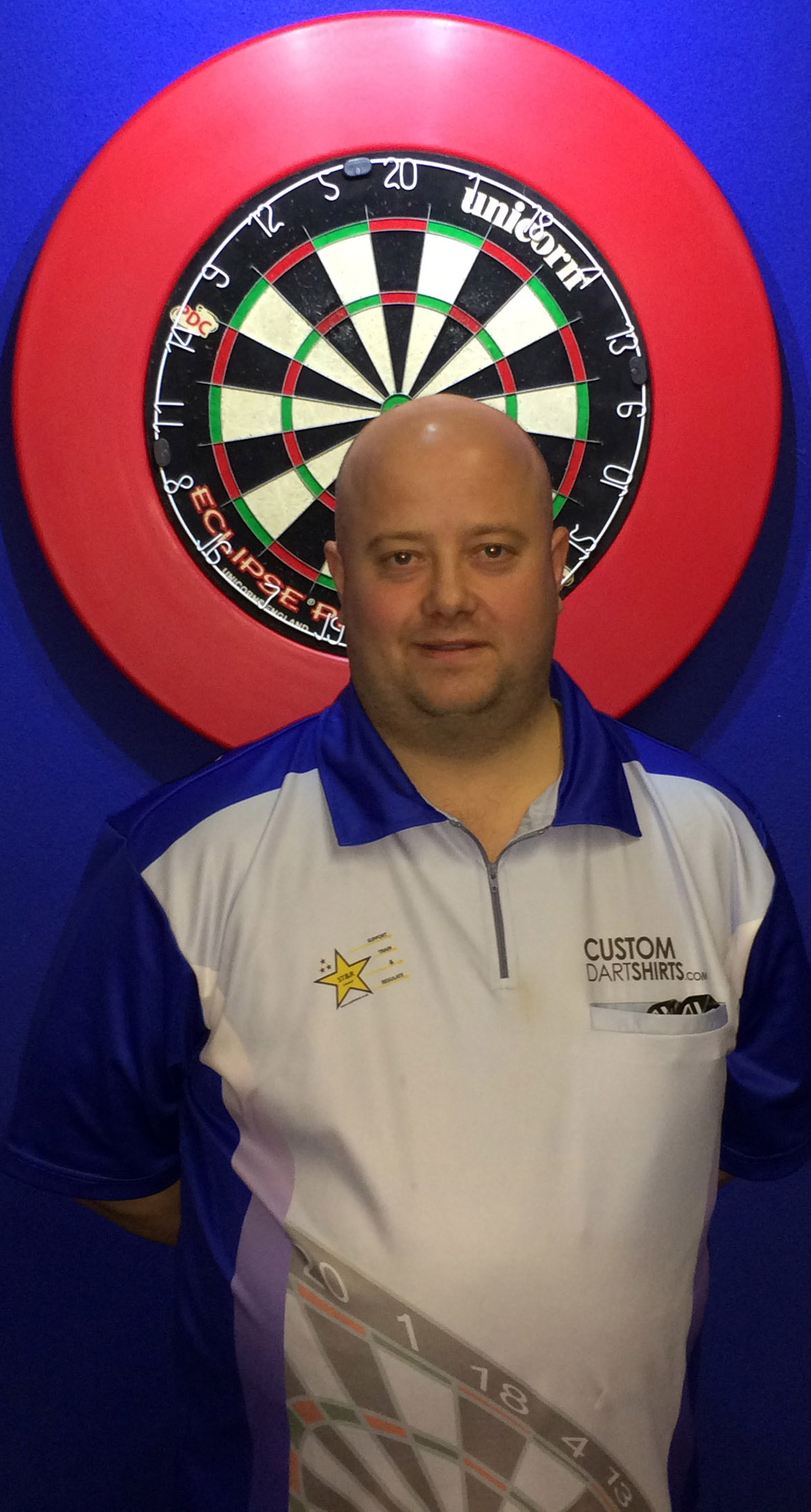 Dave Bird, from Winsford, is all smiles after winning a Professional Darts Corporation tour card. Picture: DAVE ALLEN/PDC