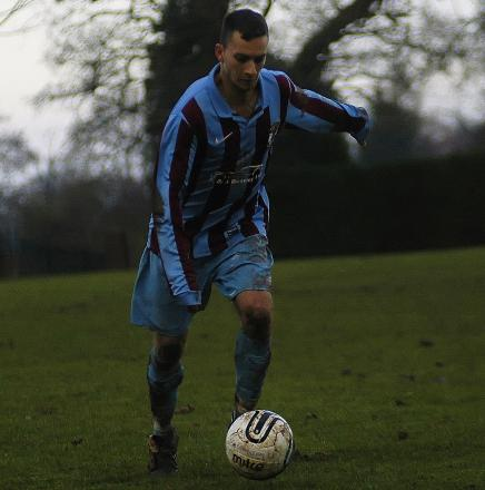 Greg Lumsden scored four goals for Cuddington reserves on Saturday. Picture: MATT EAGLES