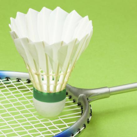 Badminton is one of many activities taking off at the centre.