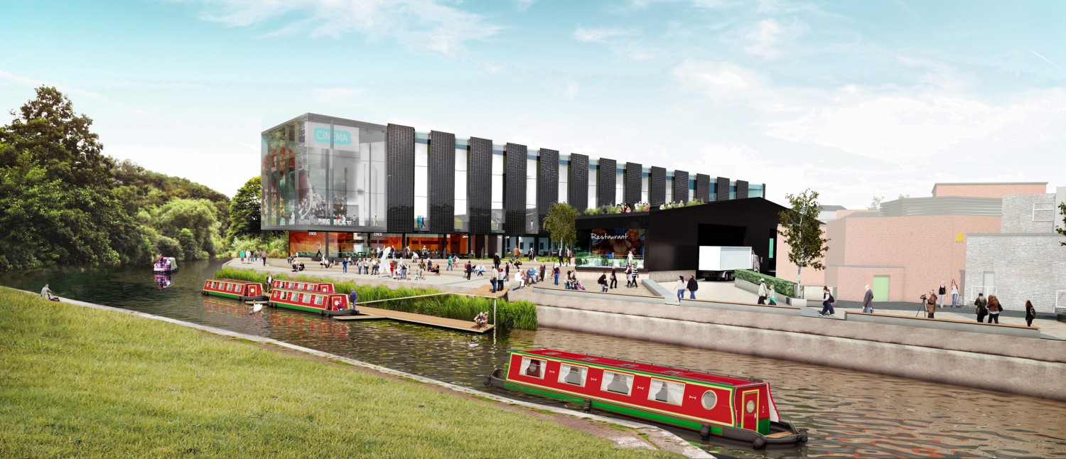 An artist's impression of the new cinema at Barons Quay, which is due to open in winter 2016.