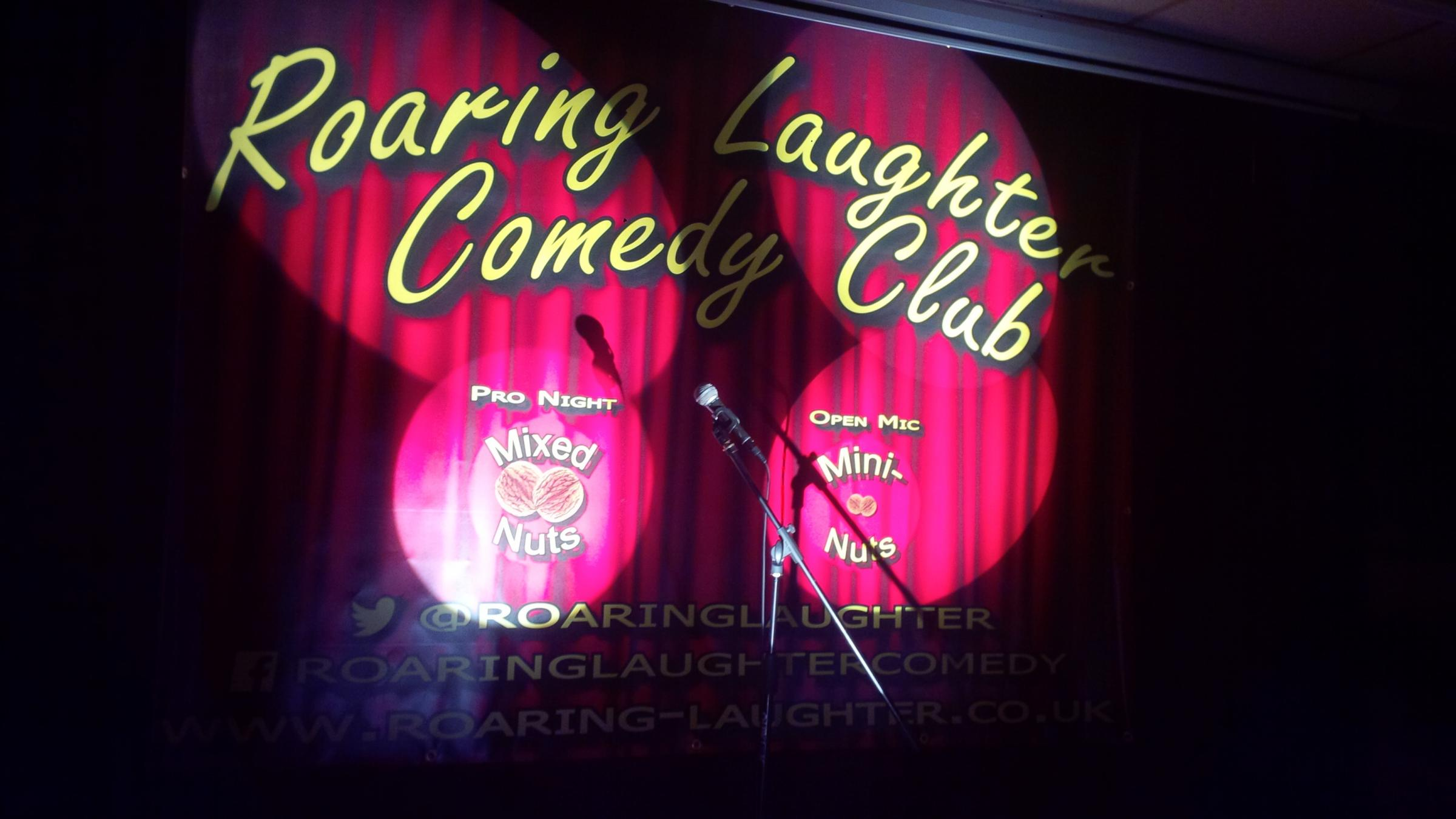 Roaring Laughter Comedy Club back at Wincham PArk