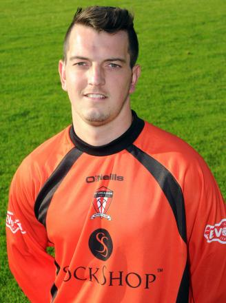 Goalkeeper Matt Cooper was one of Witton Albion's outstanding performers against Chorley
