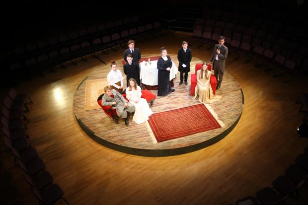 Grange pupils put on 'Earnest' performance this week
