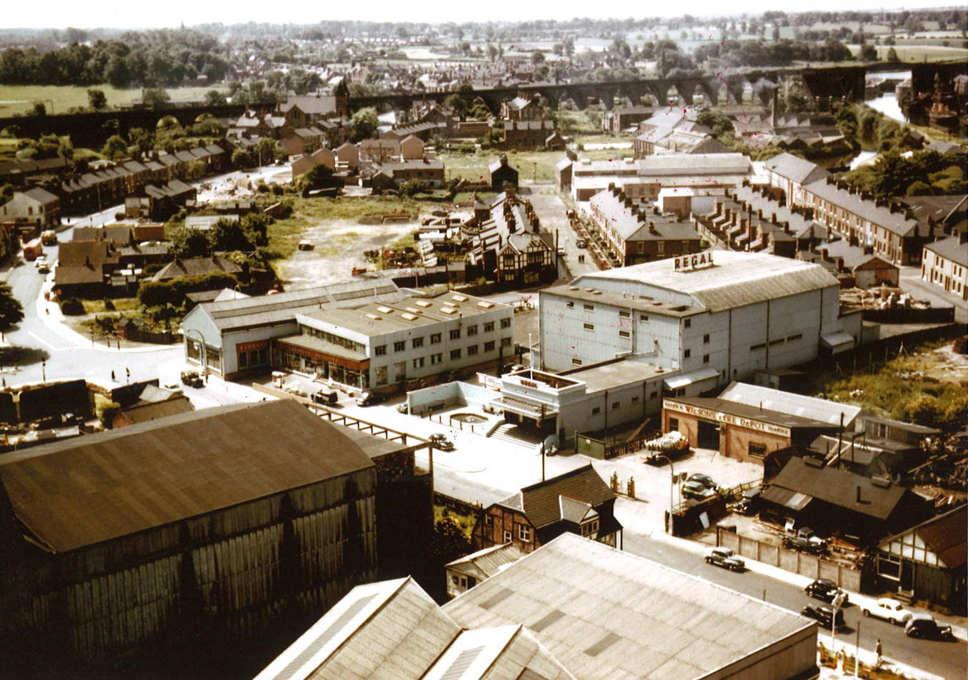 Pictures of old Northwich from the skies