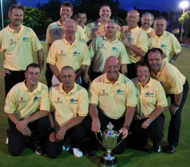 Moulton RBL A won the Mid-Cheshire Bowling Association's Littler Cup last season